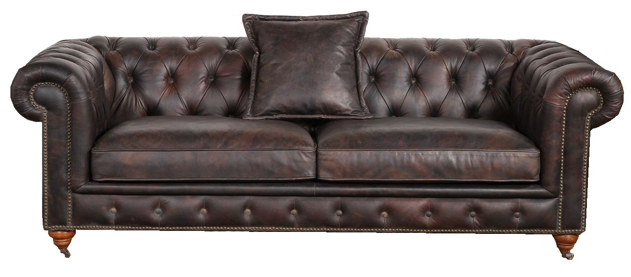 Kendal Vintage 2 Seater Distressed Leather Sofa